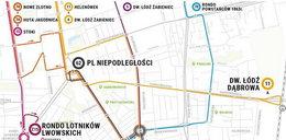 Uwaga zmiany tras tramwajów i autobusów