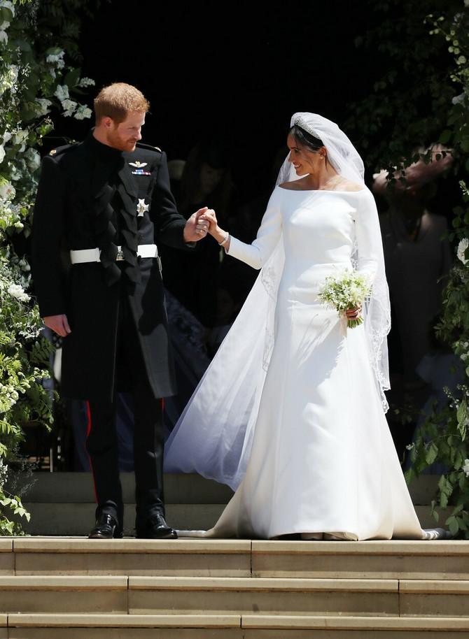 Princ Hari i Megan Markl na dan svog venčanja
