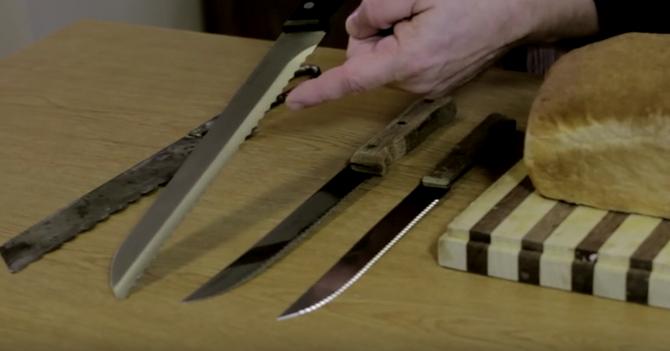 Ovako po njemu izgleda idealan nož za hleb
