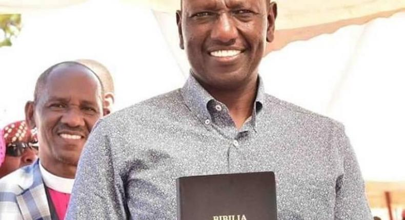 Video of William Ruto quoting a nonexistent bible verse goes viral