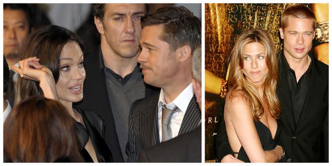 Breda Pita oritisli sa svih strana: glumac sa Anđelinom Žoli i Dženifer Aniston