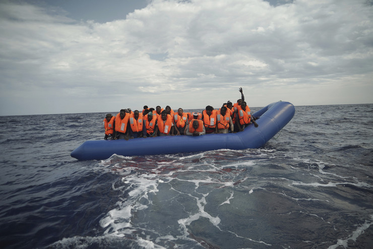 Migranti Mediteran čamac 20190908 ap renata brito mediterranean sea Di017388061