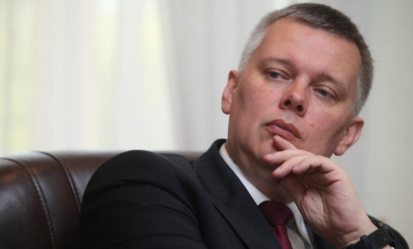 Tomasz Siemoniak był z jednym z gości na urodzinach Roberta Mazurka.