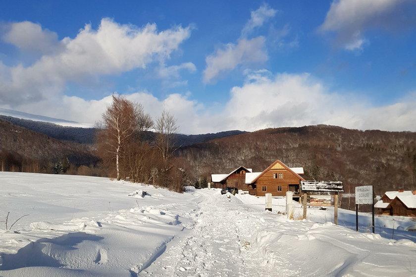 Bieszczadach może spaść 15 centymetrów śniegu