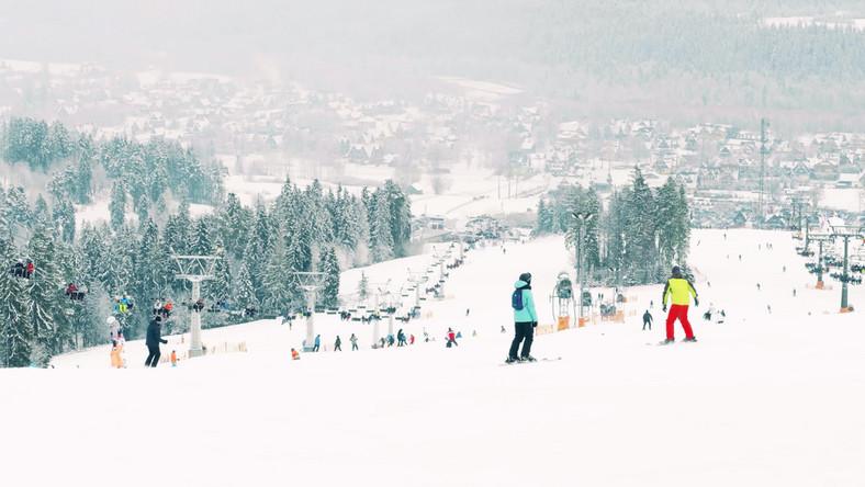 narty, zima, sport, narciarstwo