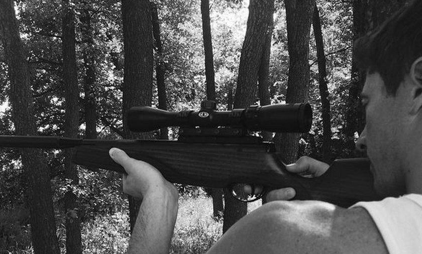 Robert Lewandowski polowanie