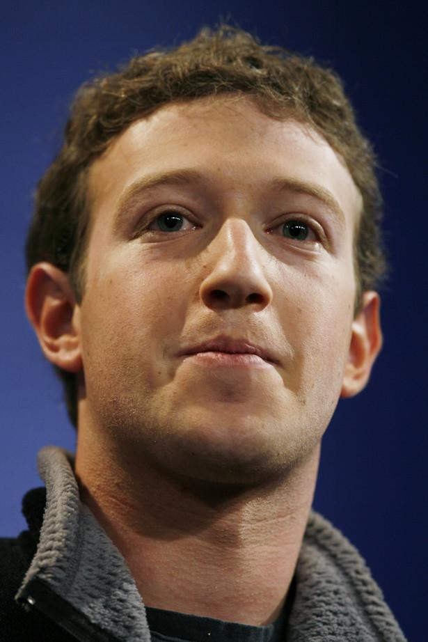 Mark Zuckerberg, założyciel Facebook'a