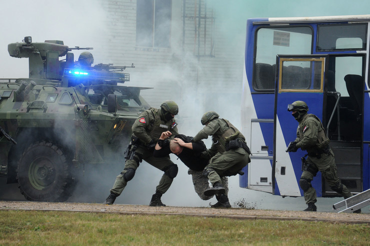 Smederevo, Policijska vežba, Kina, Srbija