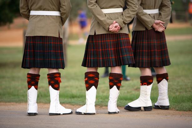 Szkoccy żołnierze, fot. Mark Atkins