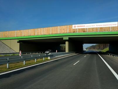 Odcinek S3 Zielona Góra Północ – Sulechów ma długość 13,4 km