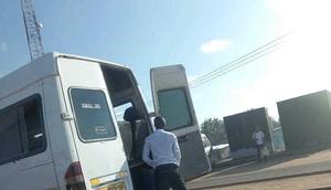 Driver urinate