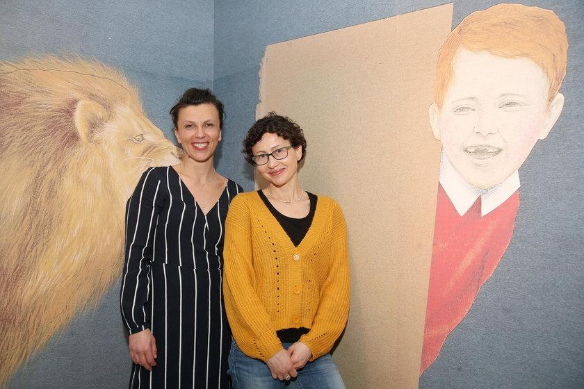 Tamara Sztyma i Anna Czerwińska, kuratorki wystawy
