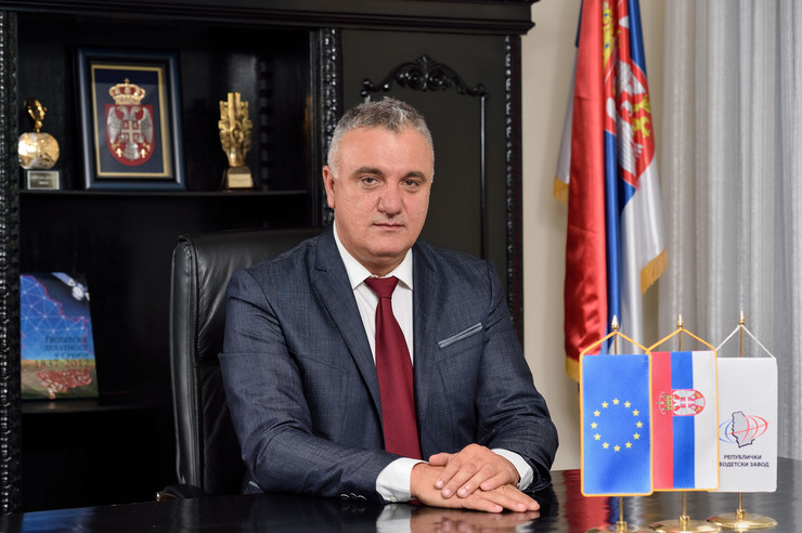 Borko Drašković - direktor Republičkog geodetskog zavoda