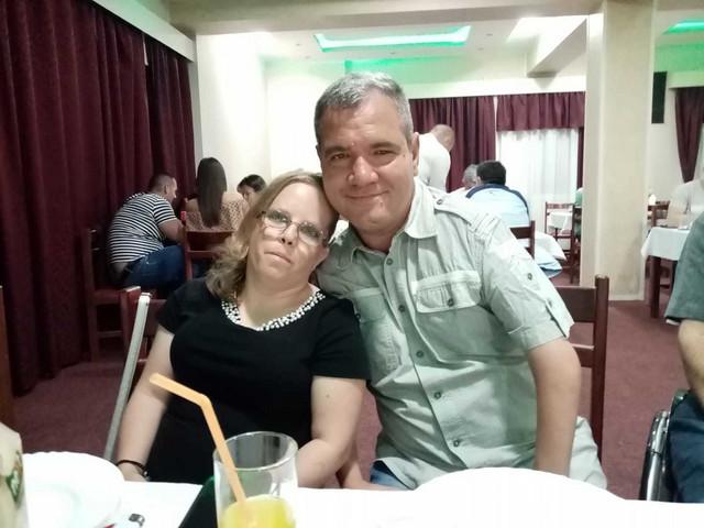 Valerija sa mužem