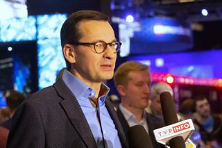 Premier Morawiecki w Katowicach: Cieszę się, że Polska jest potęgą w grach komputerowych