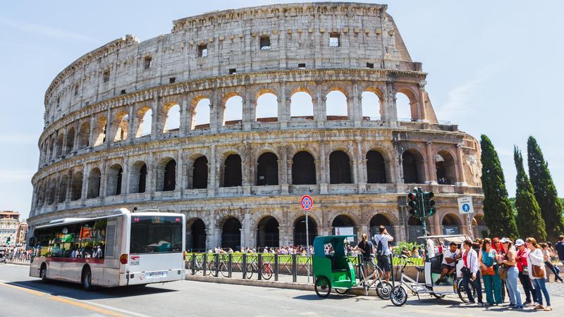 Autobus, Rzym