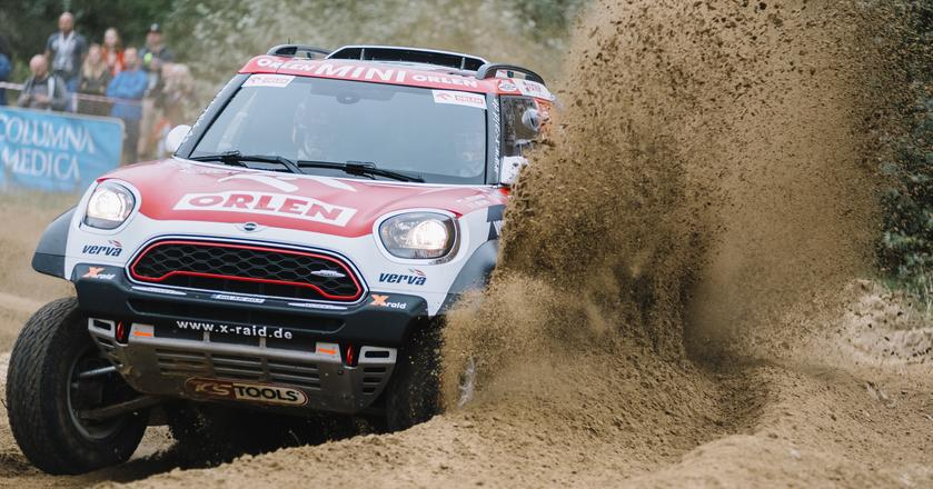 Mini John Cooper Works Rally to zupełnie nowa konstrukcja, która w tym roku zastąpiła Mini ALL4 Racing.