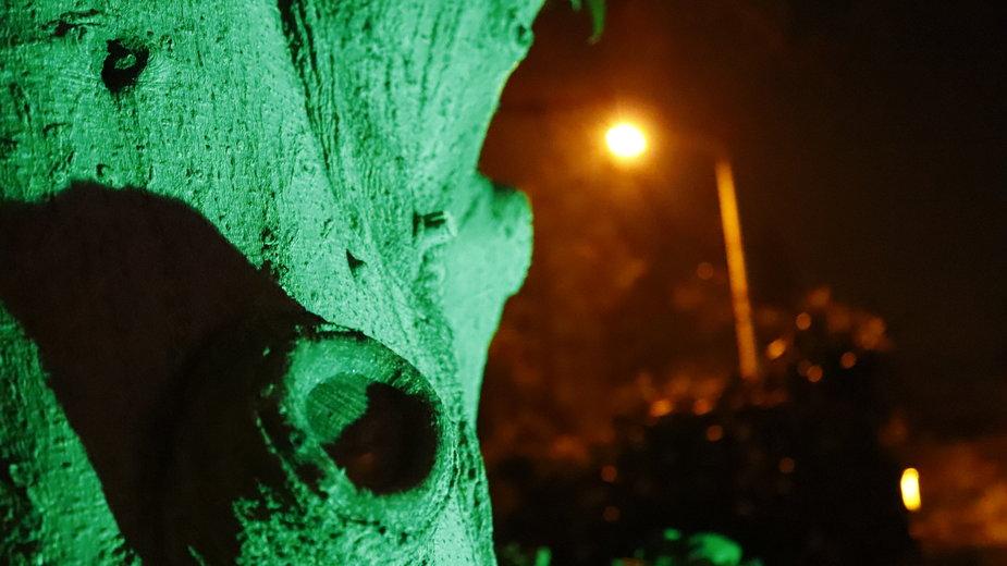 Zielone światło przed domem oznacza, że mieszkańcy są gotowi nieść pomoc uchodźcom