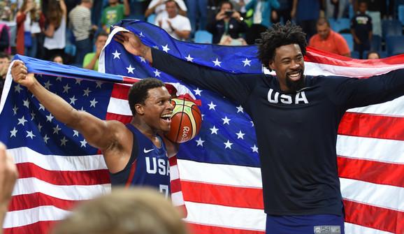 Košarkaši SAD slave titulu u Riju