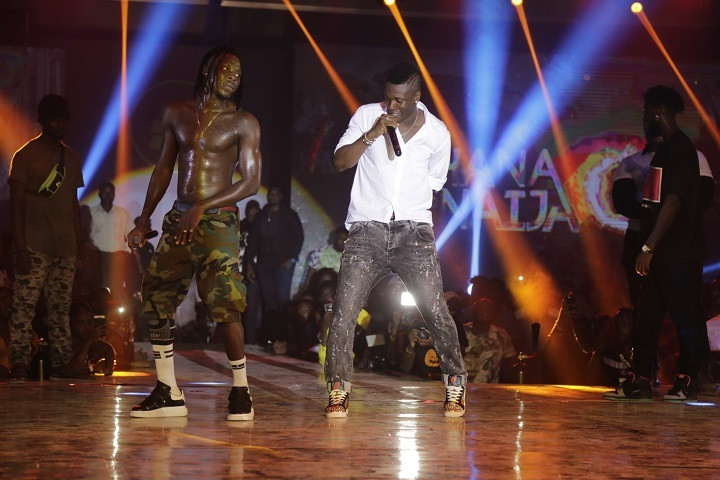 Gyan performs 'Dirty Enemies' with Stonebwoy