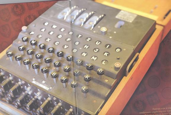 "Čuvena nemačka ""Enigma"" za šifrovanje dokumenata"