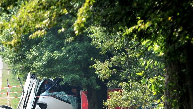 Do wypadku doszło na drodze krajowej nr 17 w miejscowości Górzno-Kolonia na obwodnicy Garwolina.