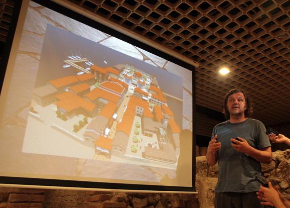 Kamengrad će se prostirati na 2,5 hektara i biće izgrađen za četiri godine: Emir Kusturica