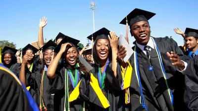 Which African country has the highest number of international students in the US?