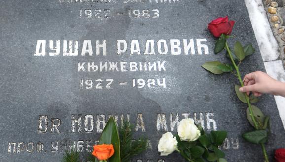 Radović je sahranjen u Aleji Velikana na Novom groblju