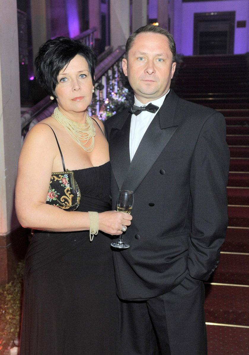 Kamil Durczok i żona, Marianna Dufek-Durczok