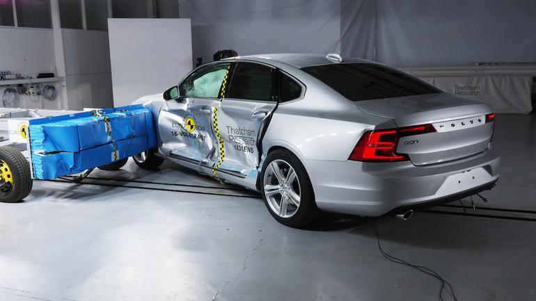 Volvo S90/ - test zderzeniowy Euro NCAP