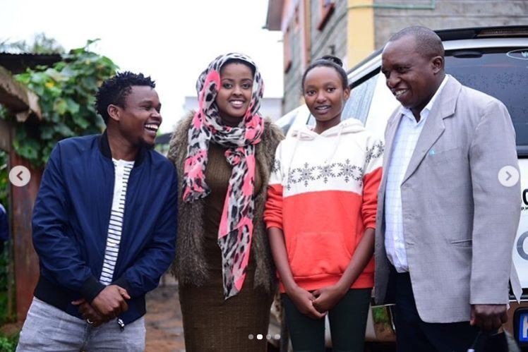 Janet Mbugua, Amina Abdi and Terryanne Chebet to help drunk high school girl in video that went viral