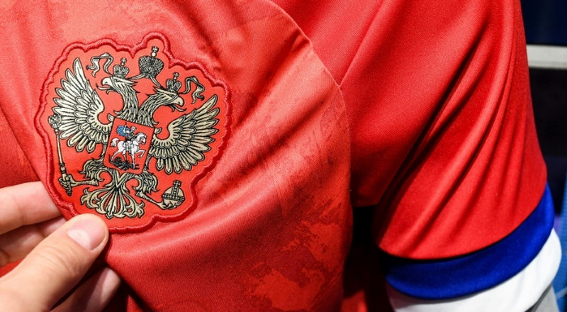 Russia snub new Adidas shirts with upside-down flag