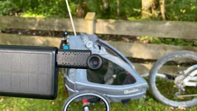 Kamera für den Kinder-Fahrradanhänger: Rückspiegel 2.0