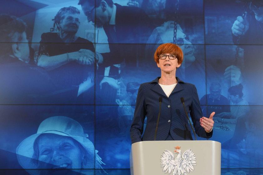 Elżbieta Rafalska minister rodziny i pracy