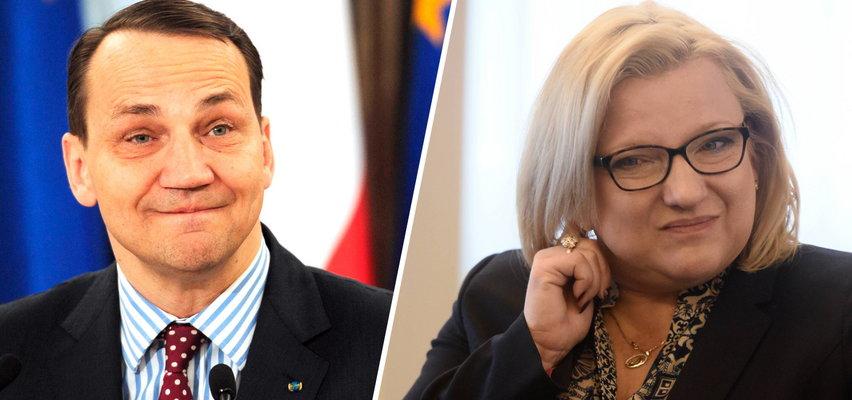 """Sikorski brutalnie do europosłanki PiS. Padły słowa o """"zatłuszczonym łbie"""""""