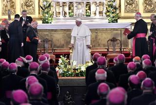 Abp Gądecki na spotkaniu biskupów z papieżem: Dziękujemy za troskę