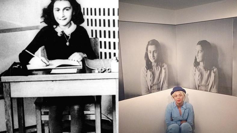 """Beyoncé odwiedziła w Amsterdamie dom Anny Frank, w którym autorka głośnego """"Dziennika"""" wraz z rodziną i czwórką znajomych ukrywała się przed nazistami podczas II wojny światowej, a w którym obecnie mieści się jej muzeum. Gwiazda muzyki pop nie omieszkała zrobić sobie pamiątkowych fotek…"""
