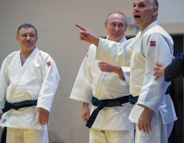 Arkadij Rotenberg i Vladimir Putin trenirali su džudo u istom klubu