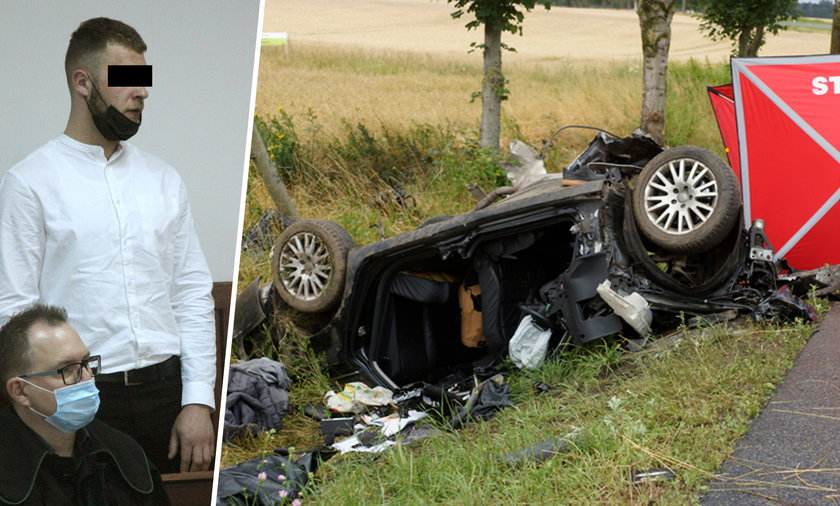 Trzy lata więzienia – taki wyrok usłyszał Dawid F., sprawca wypadku, w którym zginęły trzy osoby