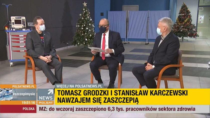 Grodzki i Karczewski zaszczepili się ponad podziałami