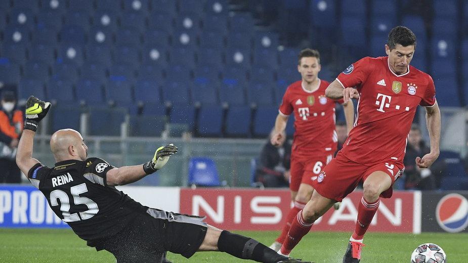 epa09032504 - ITALY SOCCER UEFA CHAMPIONS LEAGUE (SS Lazio vs FC Bayern Munchen)