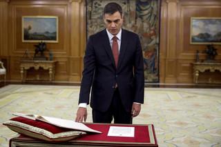 Pedro Sanchez zaprzysiężony na premiera Hiszpanii