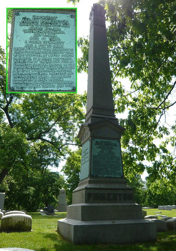 Grob Alana Pinkertona