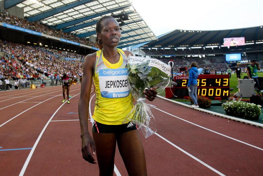 Jepkosgei chciała reprezentować Bahrajn na igrzyskach w Tokio, ale nic z tego nie będzie
