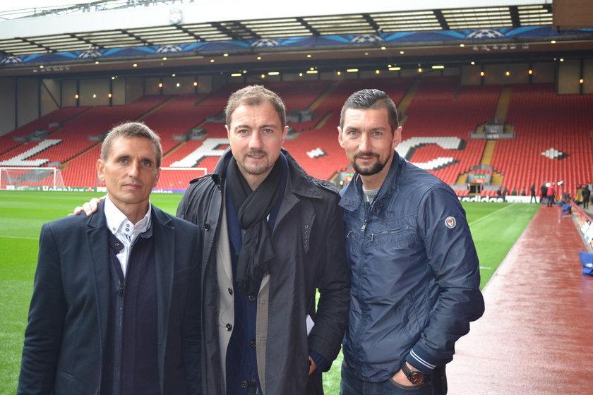 Brosz i Dudek w Liverpoolu