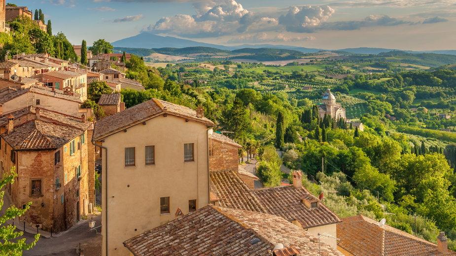 Montepulciano, Toskania