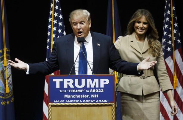 Prawybory w USA: Donald Trump prowadzi w New Hampshire