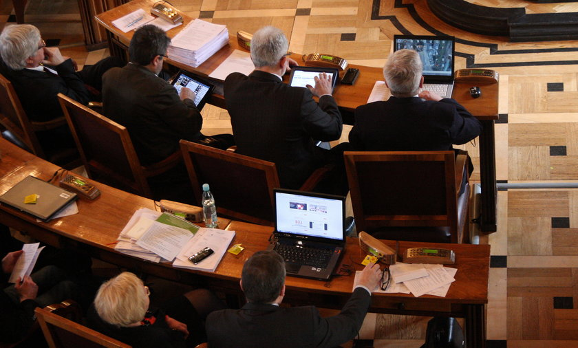 Sesja rady miasta Krakowa