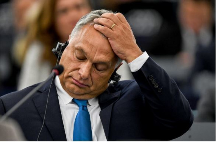 Viktor Orban EPA Patrick Seeger